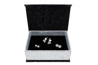 3 Pairs Earrings Set Embellished with Swarovski crystals