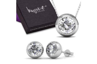 Opulence Boxed Set Embellished with Swarovski crystals