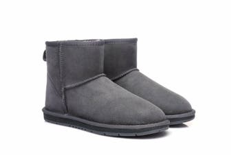 UGG Boots Australian Shepherd Unisex Mini Classic #15701 (Grey, 8L / 6M)