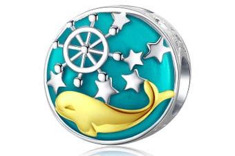 .925 Captain Dolphin Charm