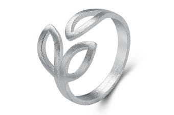 .925 Leaf Inspiration Ring-Silver Adjustable Size