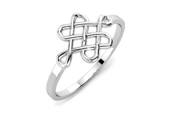 .925 Celtic Shield Knot Ring