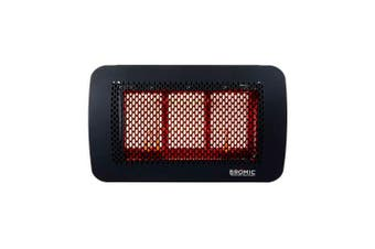 Bromic Tungsten Smart-Heat LPG Gas 300 Series Outdoor Heater Black