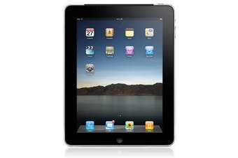Used as Demo Apple iPad 1 32GB Wifi + Cellular Silver (Local Warranty, 100% Genuine)