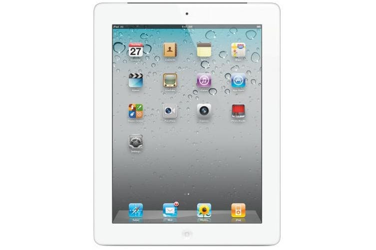 Used as demo Apple iPad 2 32GB Wifi + Cellular White (Local Warranty, 100% Genuine)