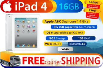 Used as demo Apple iPad 4 16GB Wifi White (Local Warranty, 100% Genuine)