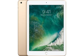 "Used as Demo Apple iPad 6 32GB 9.7"" Wifi + Cellular Gold (Local Warranty, 100% Genuine)"