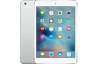 As New Apple iPad Mini 16GB Wifi + Cellular Silver (Local Warranty, 100% Genuine)