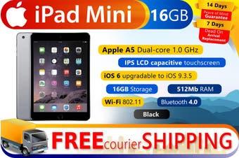 Used as demo Apple iPad Mini 16GB Wifi Black (100% Genuine)