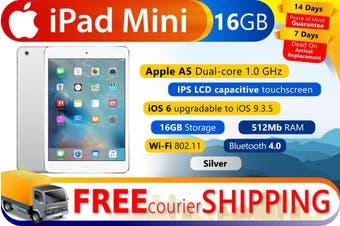 Used as demo Apple iPad Mini 16GB Wifi Silver (100% Genuine)