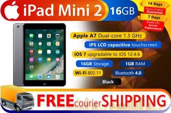 Used as demo Apple iPad Mini 2 16GB Wifi + Cellular Black (Local Warranty, 100% Genuine)