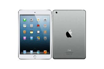 As New Apple iPad Mini 3 64GB Wifi + Cellular Silver (Local Warranty, 100% Genuine)