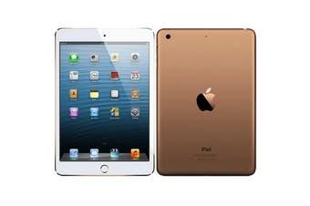 As New Apple iPad Mini 3 64GB Wifi Gold (Local Warranty, 100% Genuine)