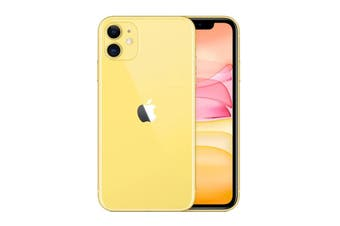 Brand New Apple iPhone 11 4G LTE (64GB, Yellow)