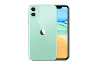 Brand New Apple iPhone 11 Dual SIM 4G LTE (128GB, Green)
