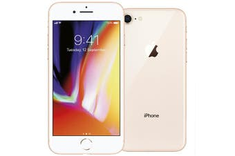 Apple Iphone 8 64GB Phone Gold (AU STOCK, Refurbished - FAIR GRADE)