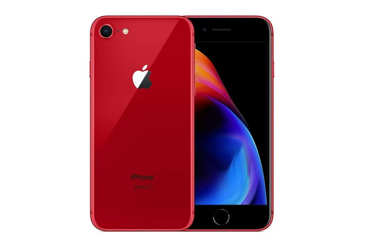 Used as Demo Apple Iphone 8 64GB (PRODUCT) RED Special Edition (Local Warranty, 100% Genuine)