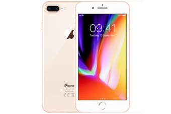 Used as Demo Apple Iphone 8 Plus 64GB Gold (Local Warranty, 100% Genuine)