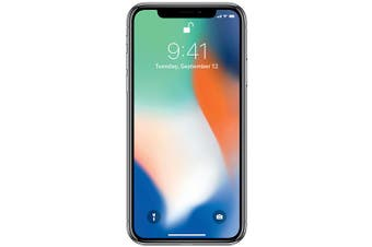Apple Iphone X 256GB Phone Silver (AU STOCK, Refurbished - FAIR GRADE)