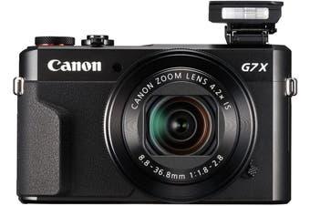 Brand New Canon PowerShot G7 X Mark II Black