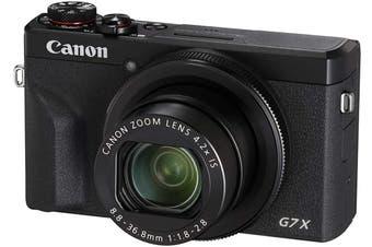 Brand New Canon PowerShot G7 X Mark III Black