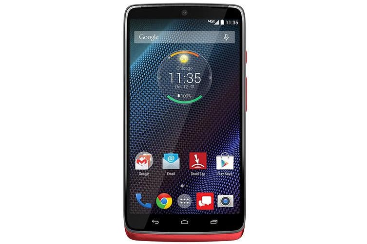 Used as Demo Motorola Droid Turbo XT1254 32GB - Red Kevlar