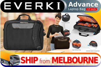 "Everki Advance Laptop Bag Briefcase fits up to 17.3"" (EKB407NCH17)"