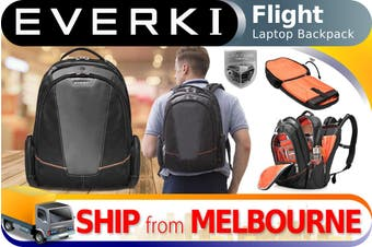 "Everki Flight Checkpoint Laptop Backpack Bag fits up to 16"" (EKP119)"
