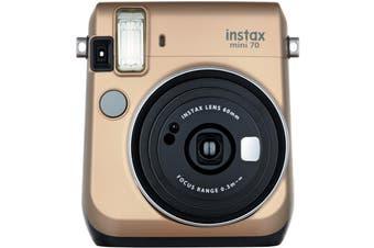 Brand New FujiFilm Instax Mini 70 Camera Gold