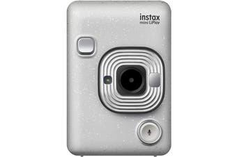 Brand New Fujifilm Instax Mini LiPlay Camera Stone White