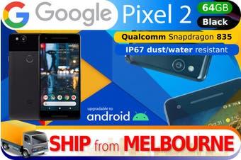 Used as Demo Google Pixel 2 64GB - Black (AUSTRALIAN MODEL, AU STOCK)