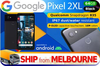 Used as Demo Google Pixel 2 XL 64GB - Black (AUSTRALIAN MODEL, AU STOCK)