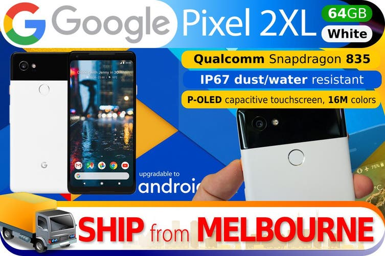 Used as Demo Google Pixel 2 XL 64GB - White (AUSTRALIAN MODEL, AU STOCK)