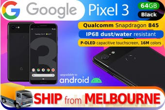 Used as Demo Google Pixel 3 64GB - Black (AUSTRALIAN MODEL, AU STOCK)