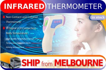Non-Contact Infrared Thermometer Digital LCD Contactless Body Temperature (FREE SHIPPING)