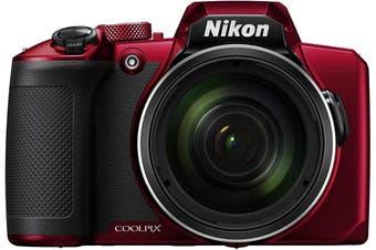 Brand New Nikon Coolpix B600 Red