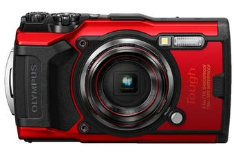 Brand New Olympus TOUGH TG-6 Red Camera