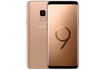Used as demo Samsung Galaxy S9 SM-G960F Gold 64GB (AUSTRALIAN MODEL, AU STOCK)