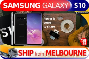 Used as Demo Samsung Galaxy S10 SM-G973F 128GB Black (AUSTRALIAN MODEL, AU STOCK)