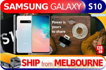 As New Samsung Galaxy S10 SM-G973F 128GB White (AUSTRALIAN MODEL, AU STOCK)