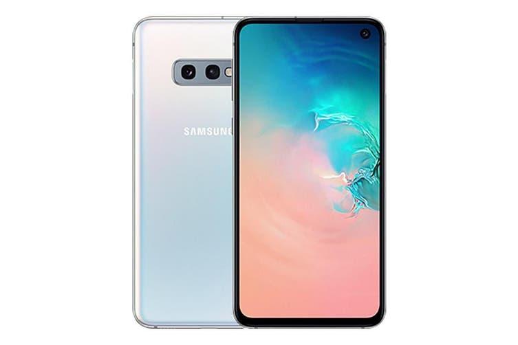 Brand New Samsung Galaxy S10e Dual SIM 4G LTE (6GB RAM, 128GB, Prism White)