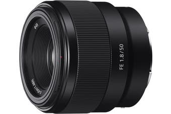 Brand New Sony FE 50mm F1.8 Lens
