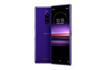 Brand New Sony Xperia 1 Dual SIM 4G LTE (128GB , Purple)