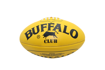 Buffalo Sports Club Leather Football - Red Full Size