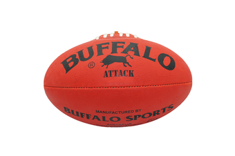 Buffalo Sports All Weather Synthetic Football - Red Size 3