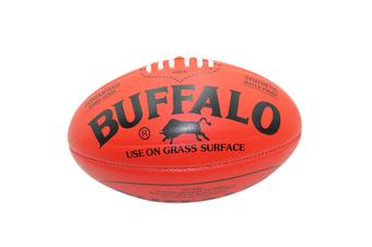Buffalo Soft Touch Aussie Rules Football - Red Mini 20cm