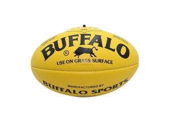Buffalo Soft Touch Aussie Rules Football - Yellow Mini 20cm