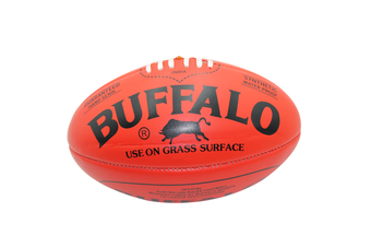 Buffalo Soft Touch Aussie Rules Football - Red Midi 25cm