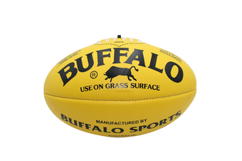 Buffalo Soft Touch Aussie Rules Football - Yellow Midi 25cm