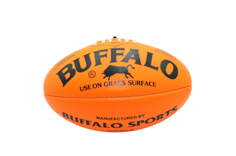 Buffalo Soft Touch Aussie Rules Football - Orange Full Size